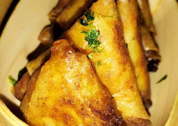 ♨️ Brick de pomme de terre & saumon fumé ♨️