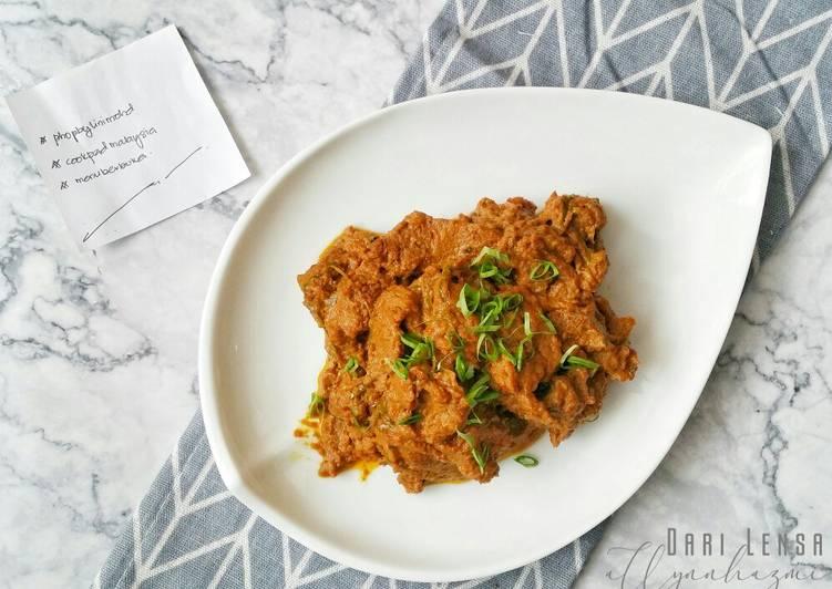 Rendang Daging My Style #PhopByLiniMohd #MenuBerbuka