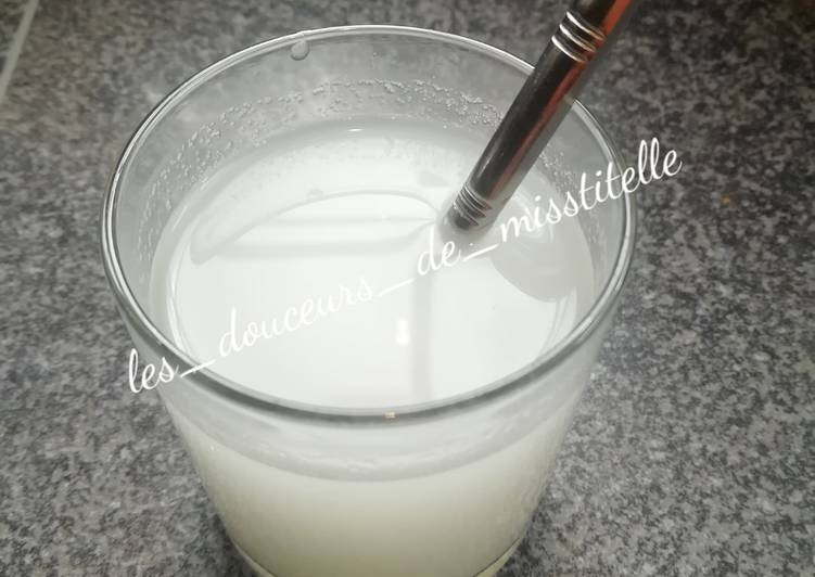 How to Cook Tasty Boisson au sirop d'orgeat maison