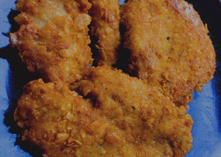Recipe of Homemade Juicy Chicken Schnitzel🔥