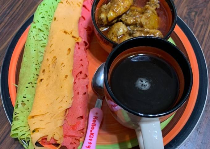 Roti Jala & Kari Ayam 😘