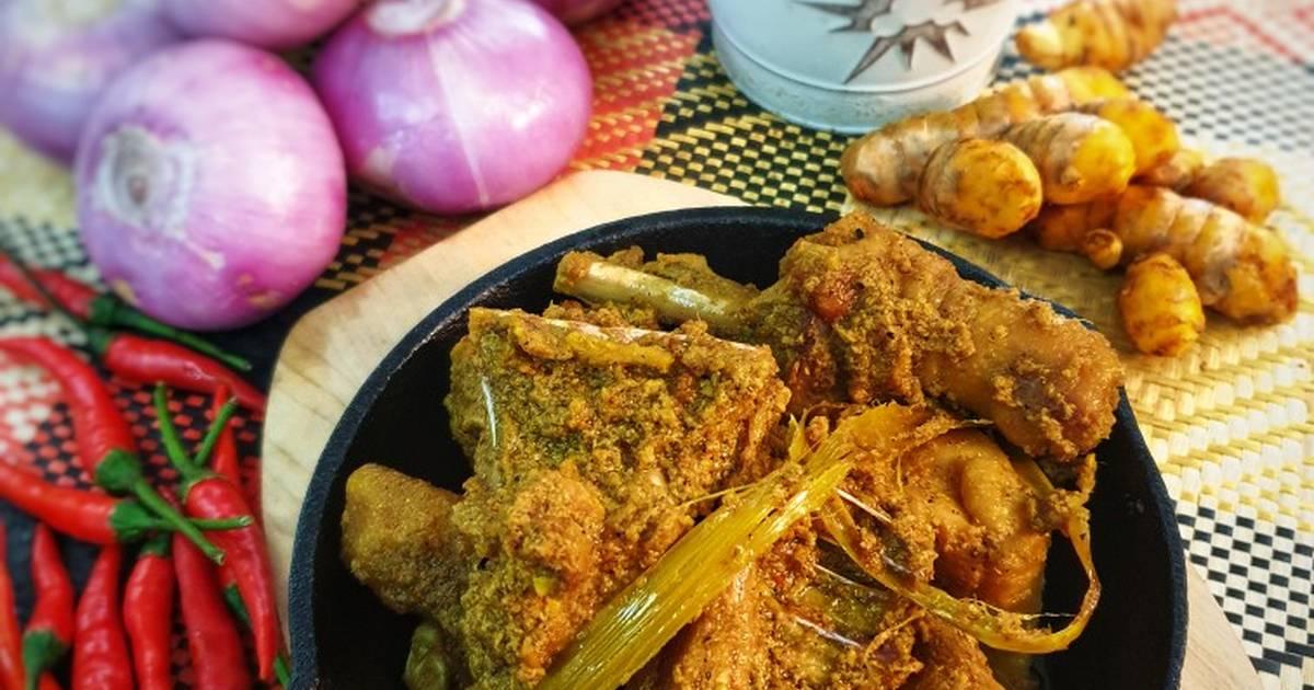 resepi rendang ayam pencen  sedap  mudah oleh komuniti cookpad cookpad Resepi Kek Labu Yang Sedap Enak dan Mudah