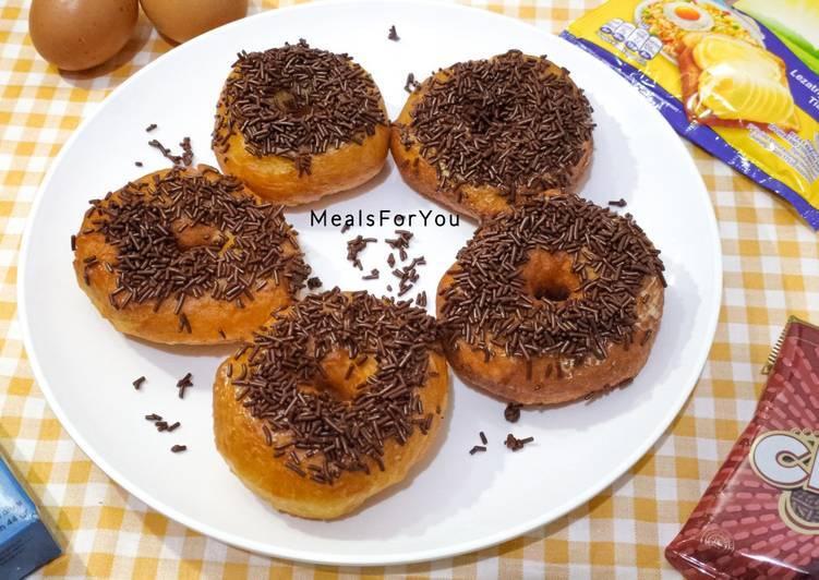 Resep Donut Empuk Takaran Sendok Ala Anak Kost Enak Dapurkoe