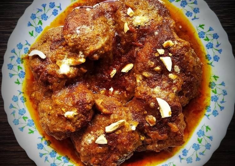 Echor ER kofta curry jackfruit meat balls