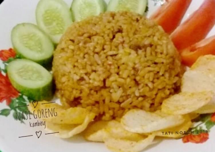 Nasi Goreng Kambing #Seninsemangat
