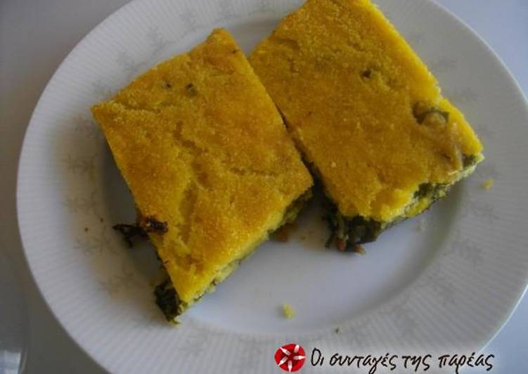 Plastos (cornmeal pie)