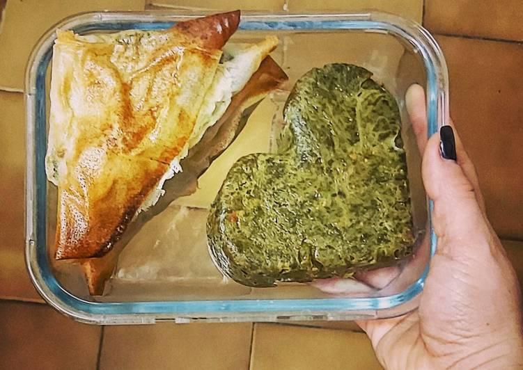 Quiche sans pâte épinard thon parmesan