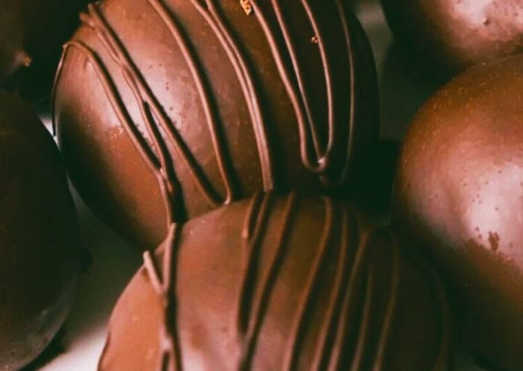Chocolate Fudge Brownie balls