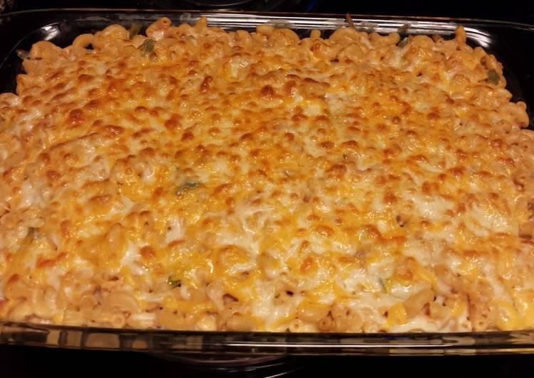 Simple Way to Make Award-winning Southwestern Chicken Mac & Cheese