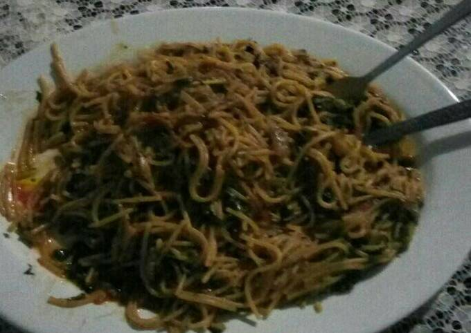 Spaghetti nyama