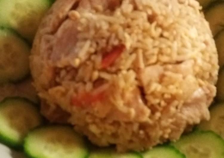 Pork fry rice