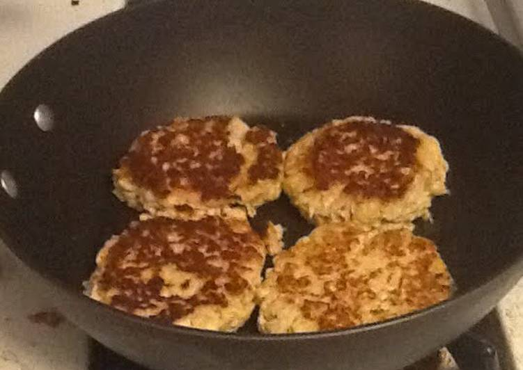Homemade Chicken Patties