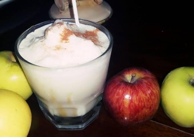 Apple cinnamon delight milkshake