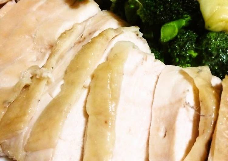 Your Overall Health Can Be Impacted By The Foods You Decide To Consume Easy in the Microwave Juicy Steamed Chicken