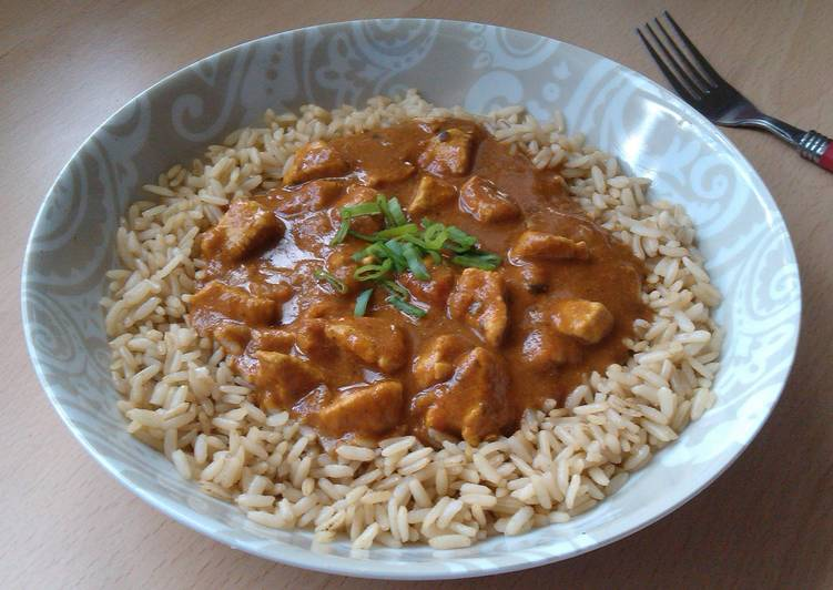 Recipe of Perfect Vickys Quick Chicken Tikka Masala, GF DF EF SF NF