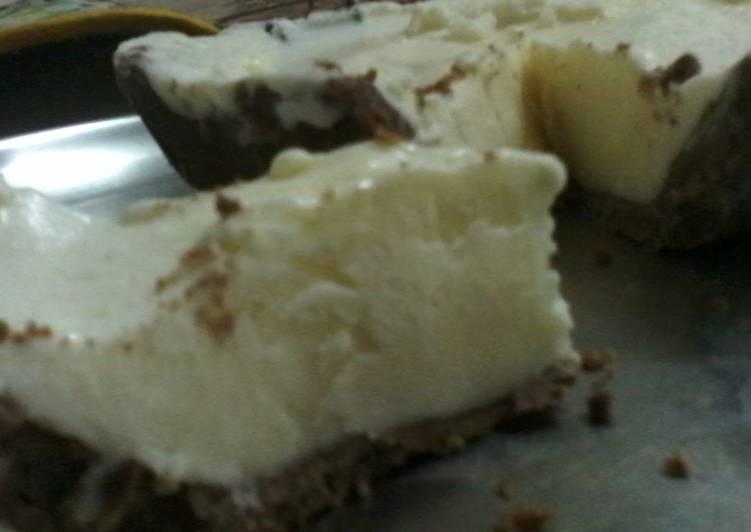 Frozen Ice Cream Cheesecake Pie