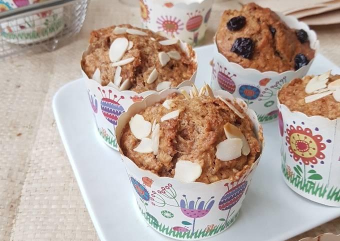 Muffin Wortel / Apel (ampas juicer)