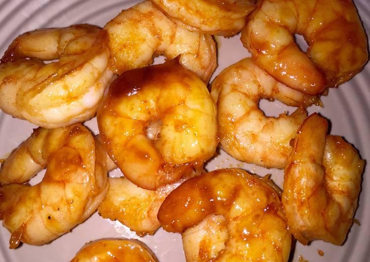 Sriracha-Glazed Shrimp