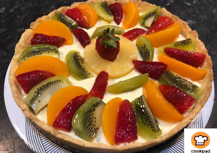 Simple Way to Make Homemade Fruit tart