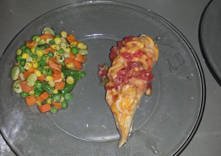 Tastey low calorie chicken dinner 305 calories