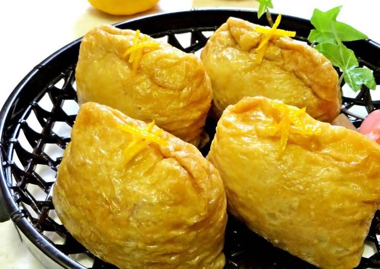 Recipe of Favorite Refreshing Inari Sushi With Yuzu