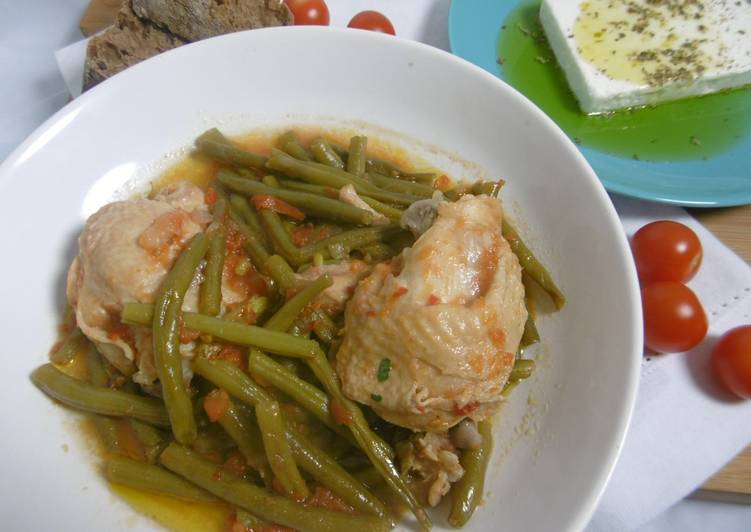 Chicken & Green Bean Pot Stew