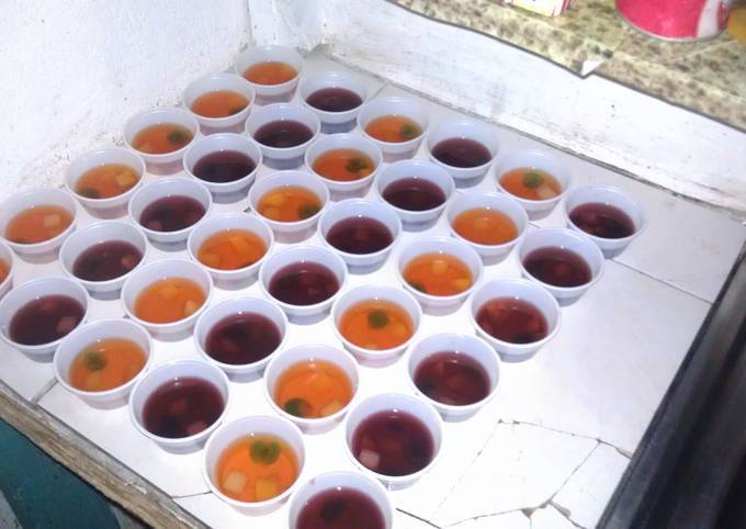 Fruity Jell-O shots