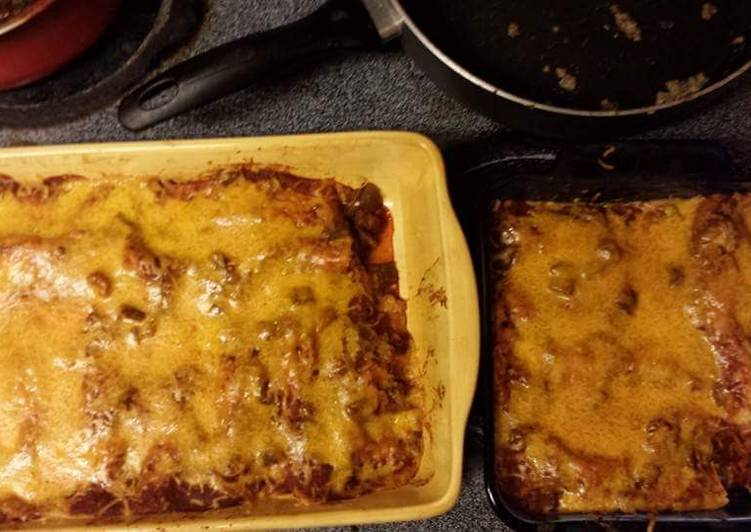 Beef Enchiladas - Laurie G Edwards