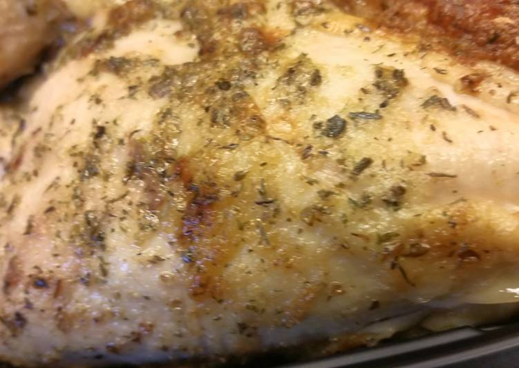 Ranch & Garlic Roast Chicken