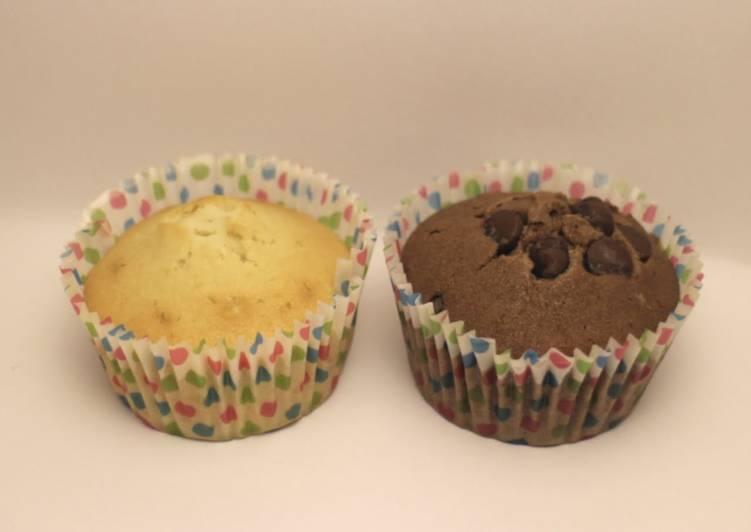 Recipe of Award-winning Easy Vanilla and chocolate cupcakes