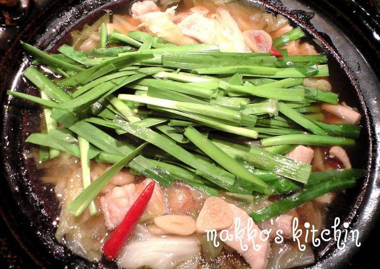 A Winter Favorite! Authentic Hakata-style Motsu-Nabe Hot Pot, Many Of You May Not Understand This But Coconut Oil Can Have Great Health Advantages To It