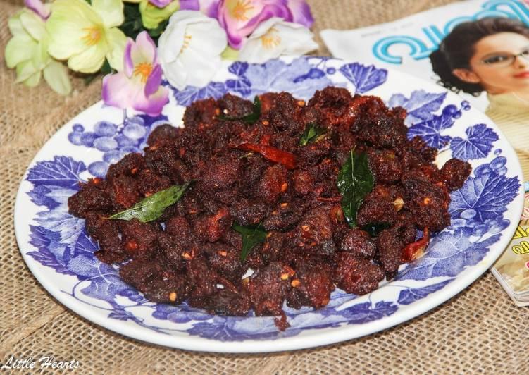 Kerala Thattukada Style Chilli Beef Roast