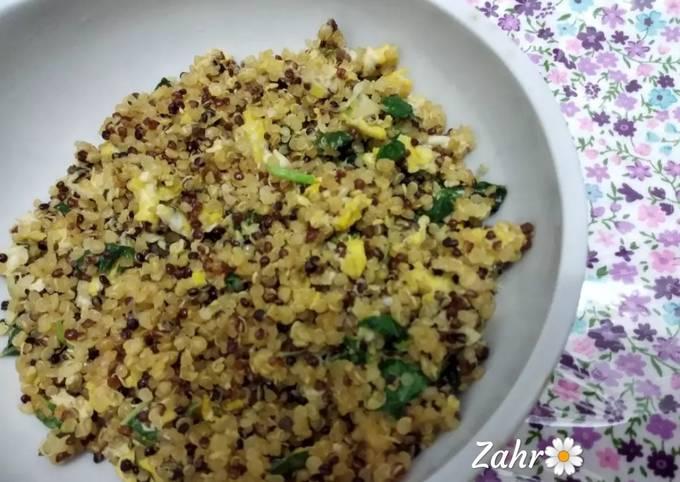 """Quinoa """"Nasi Goreng"""""""