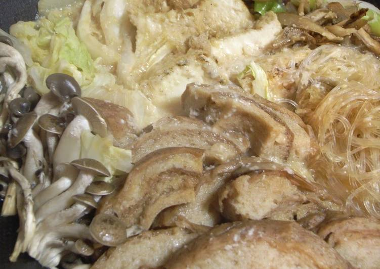 The Best Dinner Ideas Homemade Sukiyaki-style Kurumabu Seasoned with Sweet- Savory Sauce