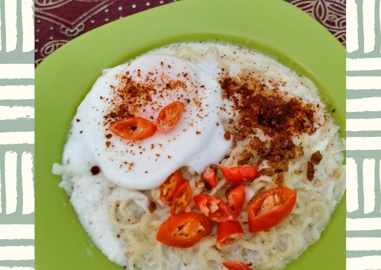 Resep Indomie kuah susu Paling dicari