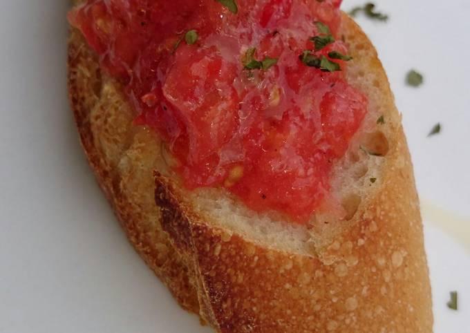 Pan Con Tomato (SPANISH APPETIZER)