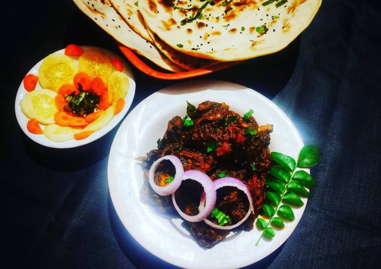 Mangalorean style ghee roast chicken Finding Nutritious Fast Food