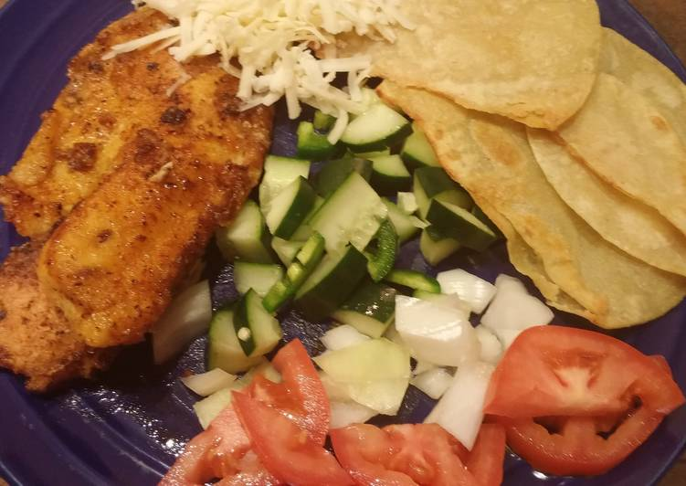 Dining 14 Superfoods Is A Great Way To Go Green For Better Health Tilapia Fish tacos- gluten free
