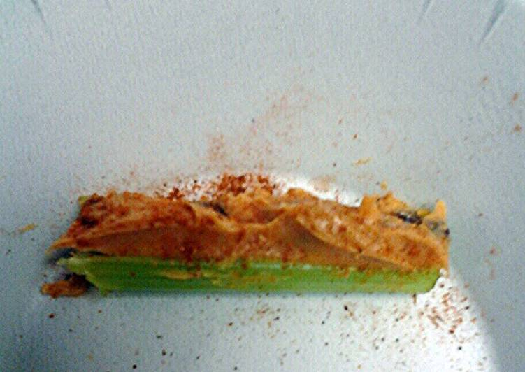 Easiest Way to Prepare Homemade Twist of India celery and peanut butter