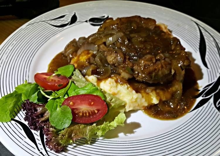 Easy, Saucy Lamb Chops