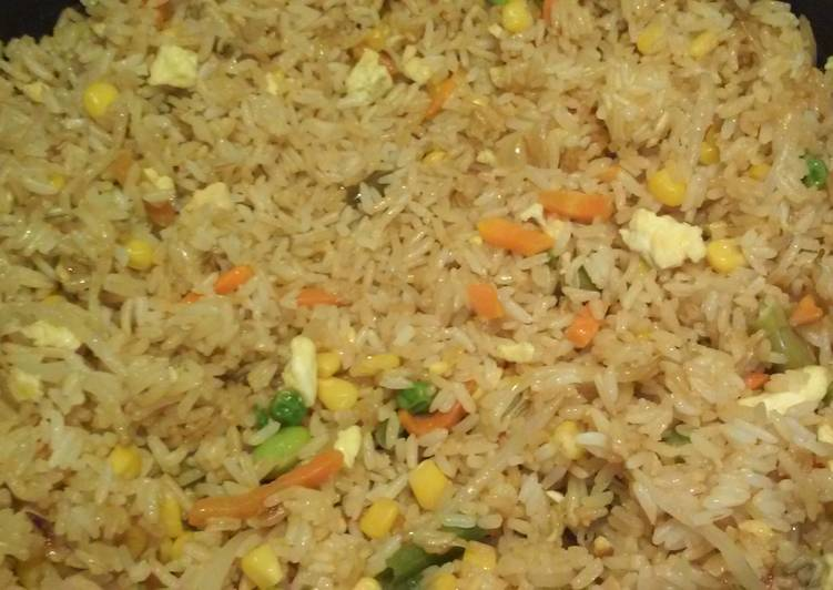 Delicious Hibachi Style Fried Rice