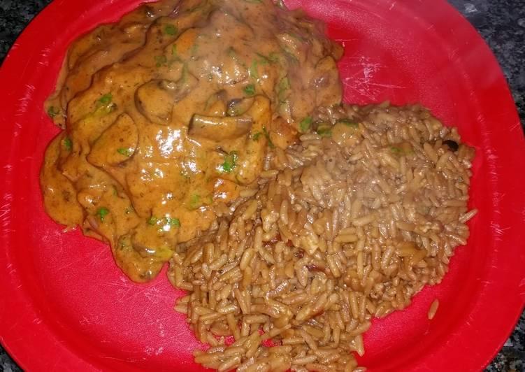 Paprika & Mushroom Pork Chops
