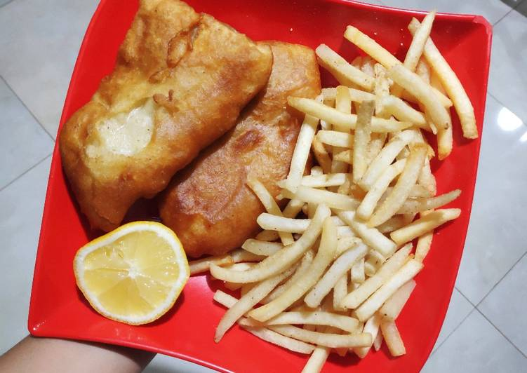 Home-made Australian Fish and Chip