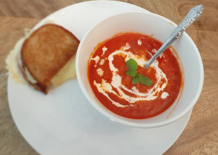 Simple Way to Prepare Most Popular Tomato Basil Soup