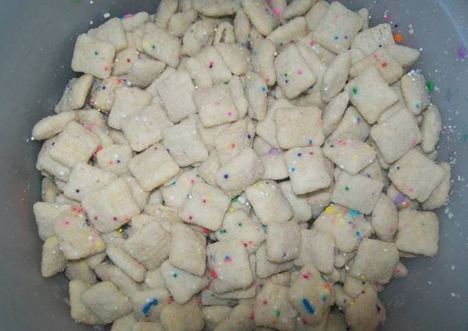 Birthday Cake Puppy Chow