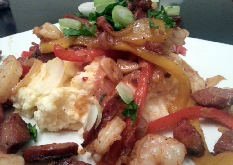 spicy shrimp and grits