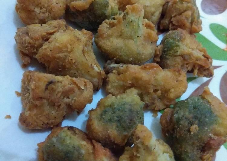 Brokoli Goreng Crispy