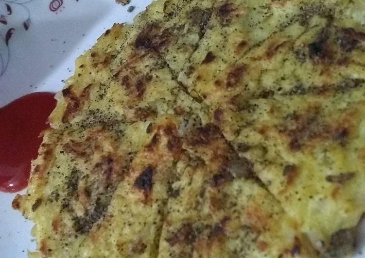 10 Minute Recipe of Quick Potato omlate