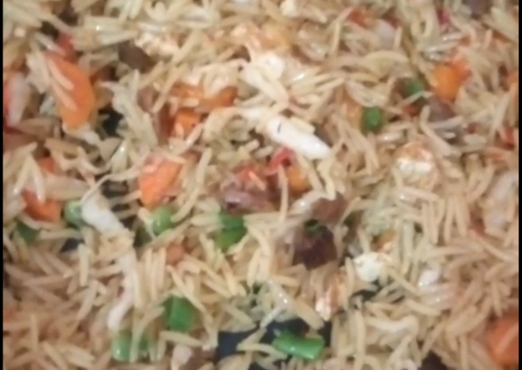 Simple Way to Prepare Quick Basmati fried rice