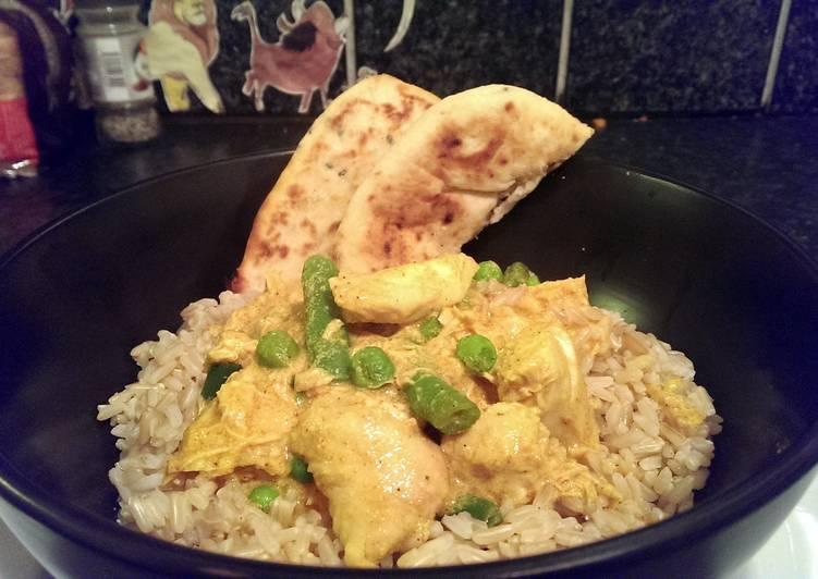 Sophie's Garlic Cheating Chicken Curry